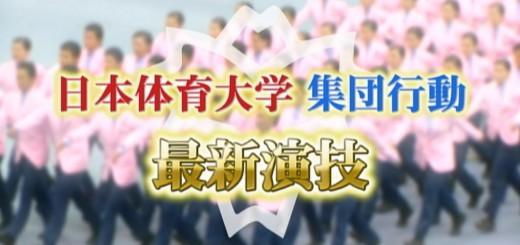 これぞ神業!日本体育大学の名物「集団行動」最新映像!(2014年)