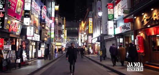凄すぎる!幻想的すぎる!全てを反対にしてみた東京の街!